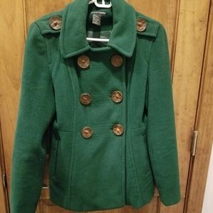 Ladies wool coat.